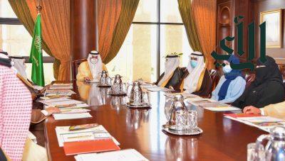 #أمير_تبوك يترأس اجتماع جمعية #الملك_عبدالعزيز الخيرية