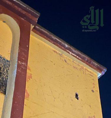سقوط مقذوف حوثي في إحدى القرى الحدودية بـ #جازان نتج عنه عدة أضرار ولا إصابات