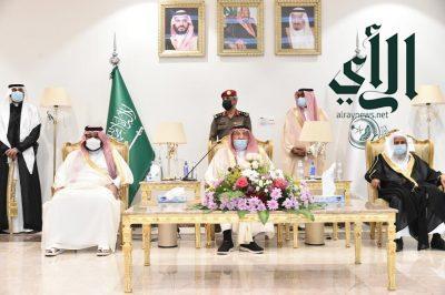 أمير منطقة جازان وسمو نائبه يستقبلان المهنئين بعيد الفطر المبارك