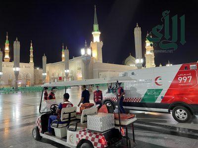هلال المدينة يستقبل اكثر من 17 الف مكالمة خلال ثلثي رمضان