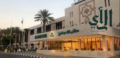إنقاذ مصاب في حادث مروري بمستشفى #الملك_عبدالعزيز بـ #جدة