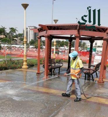 بلدية #الخبر تضع خطة لتكثيف أعمال النظافة الخبر في عيد الفطر المبارك