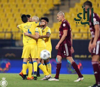 #النصر يفوز على #الفيصلي برباعية في مباراة مثيرة.. ويقفز للمركز الخامس بالدوري