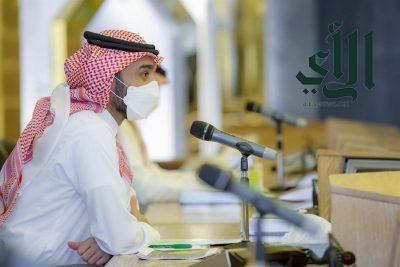 # وزير_الرياضة يجتمع برؤساء #أندية_الدوري_السعودي