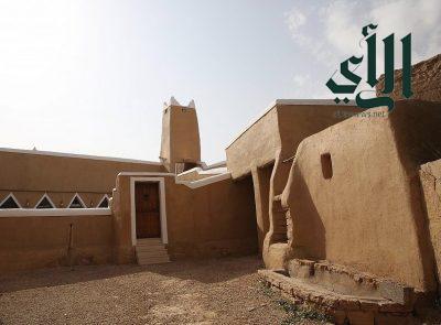 مسجد الزرقاء بثرمداء من المساجد التاريخية في المملكة