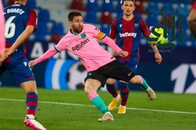"""""""ليفانتي"""" يخطف تعادلاً مثيرًا أمام برشلونة.. ويحرمه من صدارة الدوري الإسباني"""
