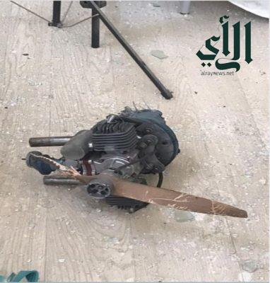 #مدني_عسير : سقوط طائرة مفخخة بدون طيار على إحدى المدارس والمحمية بموجب القانون الدولي الإنساني