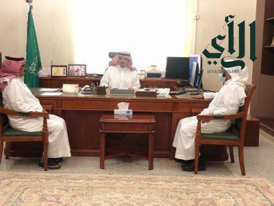 مُحافظ #وادي_الدواسر يستقبل مدير فرع وزارة البيئة والمياه والزراعة بمنطقة #الرياض