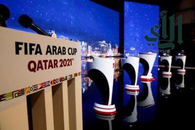 طرح تذاكر المباريات المؤهلة لنهائيات كأس العرب 2021