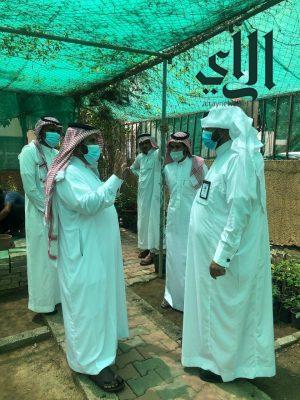 محافظ #فيفاء صالح القحطاني يزور مقر بلدية المحافظة