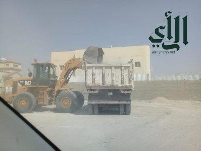 بلدية #الخفجي تزيل أكثر من 13 ألف م3 نفايات وتحسين المشهد الحضري خلال شهر