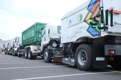 #أمانة_عسير ترفع أكثر من 18 ألف طن من النفايات خلال الاسبوع الماضي