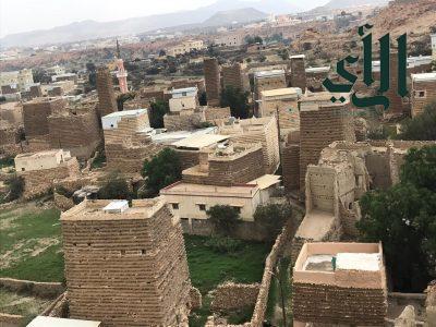 قرية الوطن الأثرية بقرية آل الخلف بمحافظة سراة عبيدة