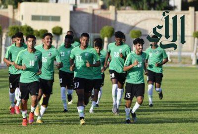 #الأخضر تحت 20 عاماً يرفع استعداده لبطولة كأس العرب في #مصر