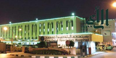 إنقاذ مريضة تعاني من انفجار ورم وعائي بالكبد بمستشفى #الملك_فهد التخصصي بـ #بريدة