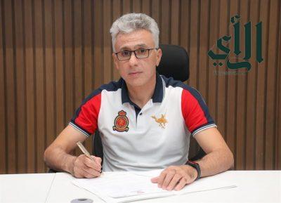 #الوحدة يتعاقد رسمياً مع # المدرب التونسي الحبيب بن رمضان