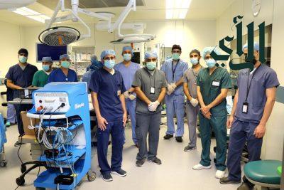 تدخل طبي ناجح بمستشفى #الملك_فهد بـ #الهفوف لإستئصال ورم من مثانة مريض