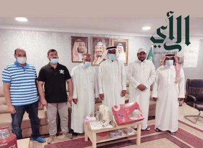 مجلس ادارة نادي الجزيرة الرياضي بدارين يقيم حفل معايدة بعيد الأضحى