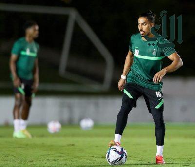 # رئيس الاتحاد السعودي لكرة القدم – يحضر تدريبات المنتخب الأولمبي في طوكيو