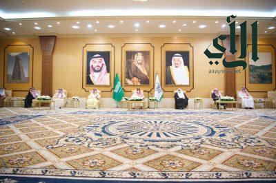 أمير_منطقة_الباحة يستقبل مدراء الادارات الحكومية بالمنطقة