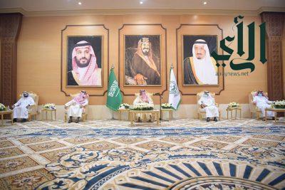 أمير منطقة الباحة يستقبل وكلاء الامارة ومدراء العموم والمحافظين