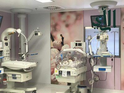 مستشفى #القريات العام يُنهي معاناة طفل خديج