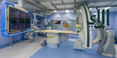 نجاح زراعة قلب صناعي لمريض يعاني من ضعف عضلة القلب بمدينة #الملك_عبدالله الطبية