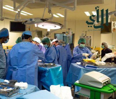 عملية ناجحة بمستشفى #الملك_خالد بنجران لنقل أعضاء متوفى دماغياً