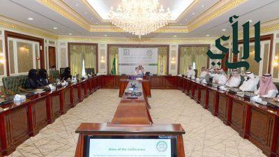 رئيس جامعة الملك خالد يدشن انطلاق فعاليات النسخة الثانية من المؤتمر الدولي للرياضيات وتطبيقاتها