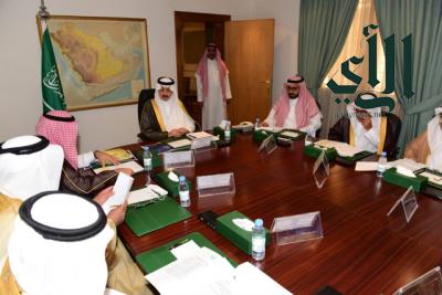 سمو محافظ الأحساء يتراس اجتماع المجلس المحلي للمحافظة