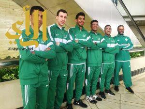مبارزو المنتخب السعودي في بطولة العالم بمدينة ليبزج الألمانية اليوم