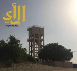 انقطاع المياه عن قرية المدرك بمحافظة بيش مع حرارة الصيف