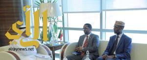 """""""الحميدان """" يبحث مع السفير الإثيوبي آفاق التعاون في المجالات العمالية"""