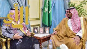 نائب أمير نجران يستقبل مدير فرع وزارة المالية بالمنطقة