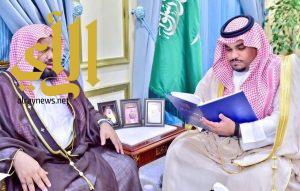 نائب أمير نجران يتسلم تقرير مشروع وقف عاصفة الحزم الخيري