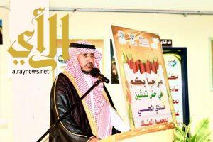 محافظ رجال ألمع يدشن نادي مدرسة الحي بمجمع الملك عبدالعزيز