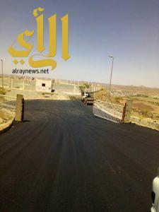 بلدية الحرجة تنتهي من تنفيذ طريق جبل جوعان