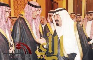 خادم الحرمين وولي العهد يستقبلان أبناء الفقيد غازي القصيبي