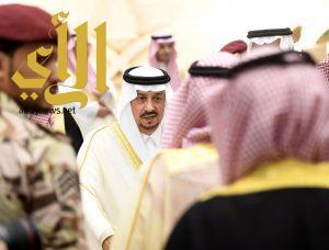 الأمير فيصل بن بندر يستقبل المهنئين بعيد الأضحى المبارك