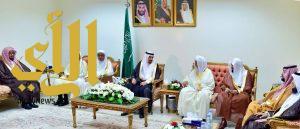 أمير نجران يستقبل رؤساء المحاكم وعدداً من مشائخ العلم بالمنطقة
