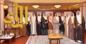 نائب رئيس مجلس الشورى يستقبل وفد منطقة نجران