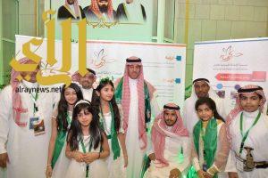 """""""الحركية"""" تشارك ليومها الثاني بمركز الملك فهد الثقافي احتفالا باليوم الوطني ٨٧"""