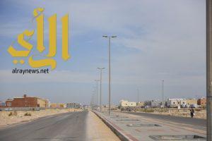 إنجاز 80% من أعمال سفلتة وأرصفة شوارع مخطط 294 بالعزيزية