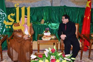 أمير الرياض يشّرف حفل سفارة الصين بمناسبة اليوم الوطني لبلادها