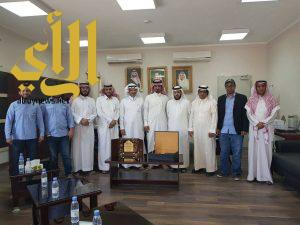 منسوبي المعهد الصناعي وتقنية بلقرن يقيمون حفل تكريم للمهندس فهد الشهري