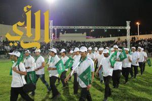 تقنية أبها تحتفل باليوم الوطني 87 وتشارك في احتفالات المنطقة