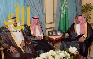 الأمير تركي بن هذلول يستقبل نائب وزير التعليم