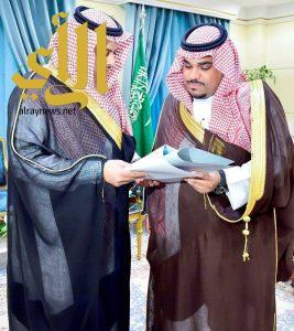 الأمير تركي بن هذلول يتسلم تقريراً عن إنجازات فرع المجاهدين