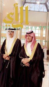 ال عباس يحصلان على درجة البكالوريس من جامعة نجران