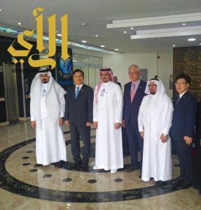 سفير كوريا الجنوبية في زيارة لمستشفى دار الشفاء بالرياض